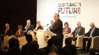Scotland's future stakeholder event