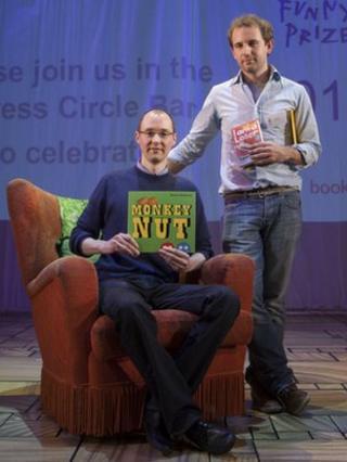 Roald Dahl Funny Prize winners Simon Rickerty and Jim Smith