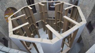 "Carlos Bunga's ""Mausoleum"""