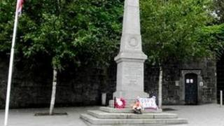 Tandragee war memorial