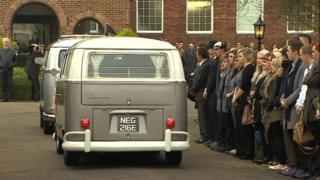 Funeral of Jamie McMahon
