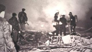 Scene of Troubles explosion