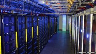 Wilkes supercomputer at Cambridge