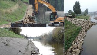 Flood defence scheme
