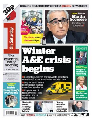 i front page 14/12/13