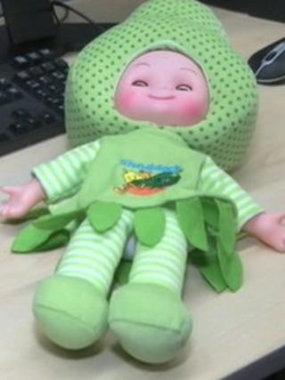 Fruit-head doll