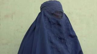 Woman who was rescued from stoning