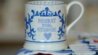 Commemorative mug for Prince George