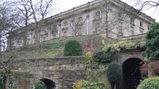 Nottingham's ducal palace