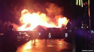 fire at Sixfields