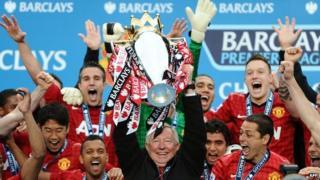 Manchester United win premier league
