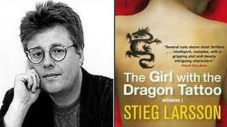 The Girl with the Dragon Tattoo book and author Stieg Larsson
