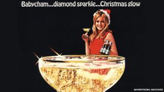 1970s Babycham advert