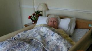 Resident at The Grange in Sherborne St John