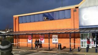 Currys store in Llandudno