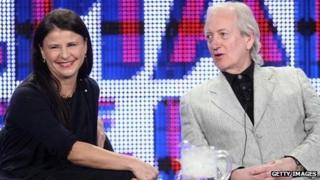 Tracey Ullman and Allan McKeown