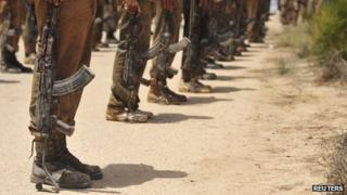 File photo of Libyan soldiers