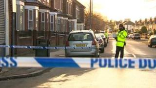 Police in Hyson Green