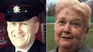 Terry Cordery and Sue Hough
