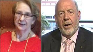 Joan Martin and Sir Michael Griffiths