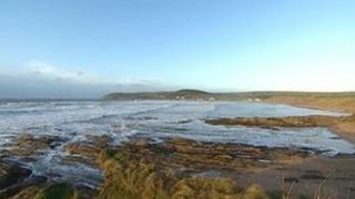 Sea near Croyde