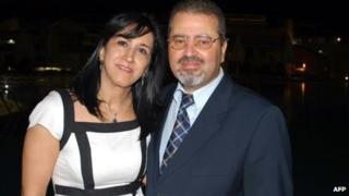 Jamal al-Jamal and his wife