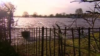 Floods in Worcestershire