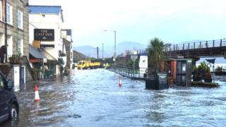 Barmouth flooding