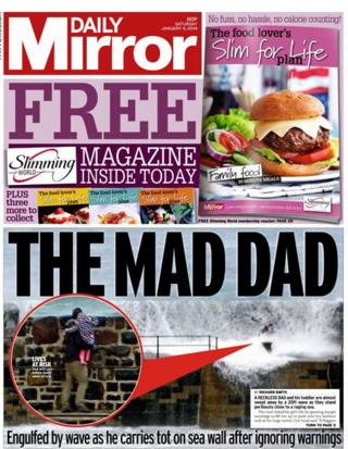 Daily Mirror front page 4/1/14