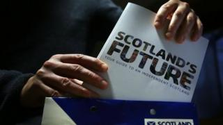 Scotland's Future document