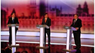 Third leaders' debate in 2010