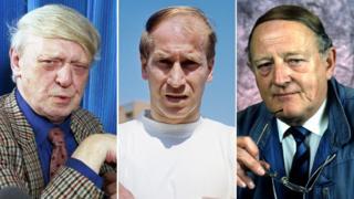 Anthony Burgess, Bobby Charlton, Robert Robinson