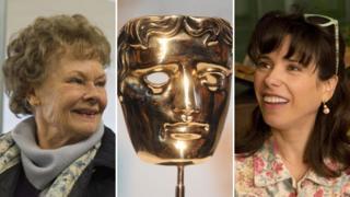 Dame Judi Dench, Sally Hawkins and a Bafta statuette