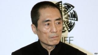 File photo: Chinese director Zhang Yimou