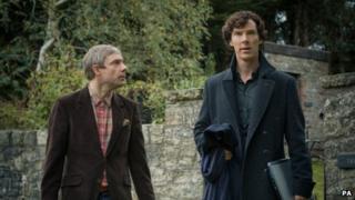 Sherlock Holmes with Watson