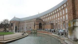 City Hall in Bristol