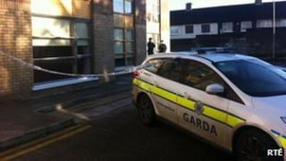 Police cordon off the Spring Mount Apartment complex in Finglas