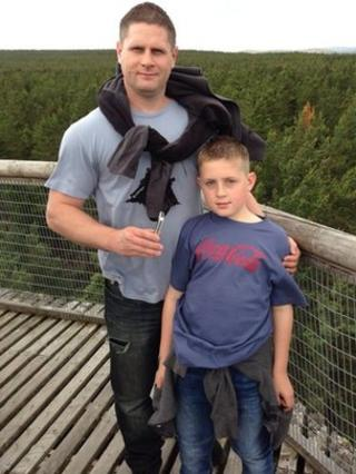 Christopher and Connor Groves