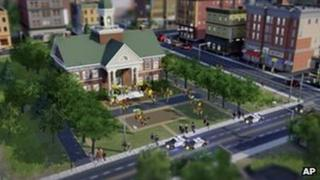 Scene from SimCity