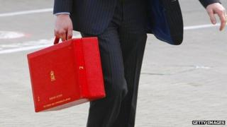 Minister with their red box