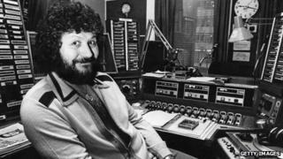 Dave Lee Travis in 1980