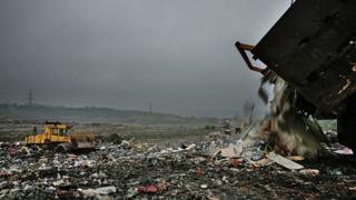 Landfill site near Canterbury
