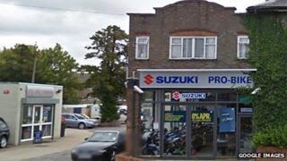 Brothel location in Newbury