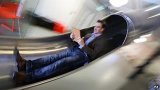 James Avery on slide