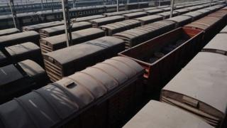 Trains in Pakisatn (file photo)