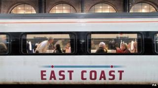 East Coast train