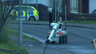 Army robot at scene of Carrick alert