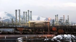 Iran's Arak heavy water facility, 15 January 2011
