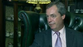 Nigel Farage at Walpole Bay Hotel