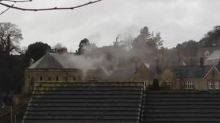 Alverton Manor Hotel fire